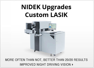 NIDEK Upgrades Custom LASIK
